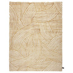 CC-Tapis Rug Inky Dhow Gold by Bethan Gray