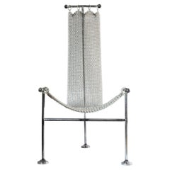 Chainmail Chair by Panorammma