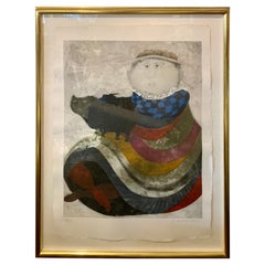 Graciela Rodo Boulanger Signed and Numbered Limited Edition Lithograph