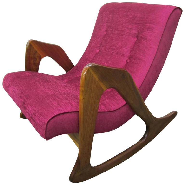 Adrian Pearsall Sculptural Rocking Chair for Craft Associates Mid-Century Modern