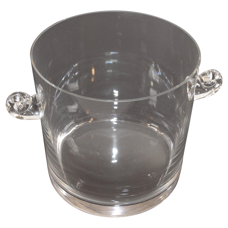 Tiffany & Co Crystal Glass Champagne Ice Bucket