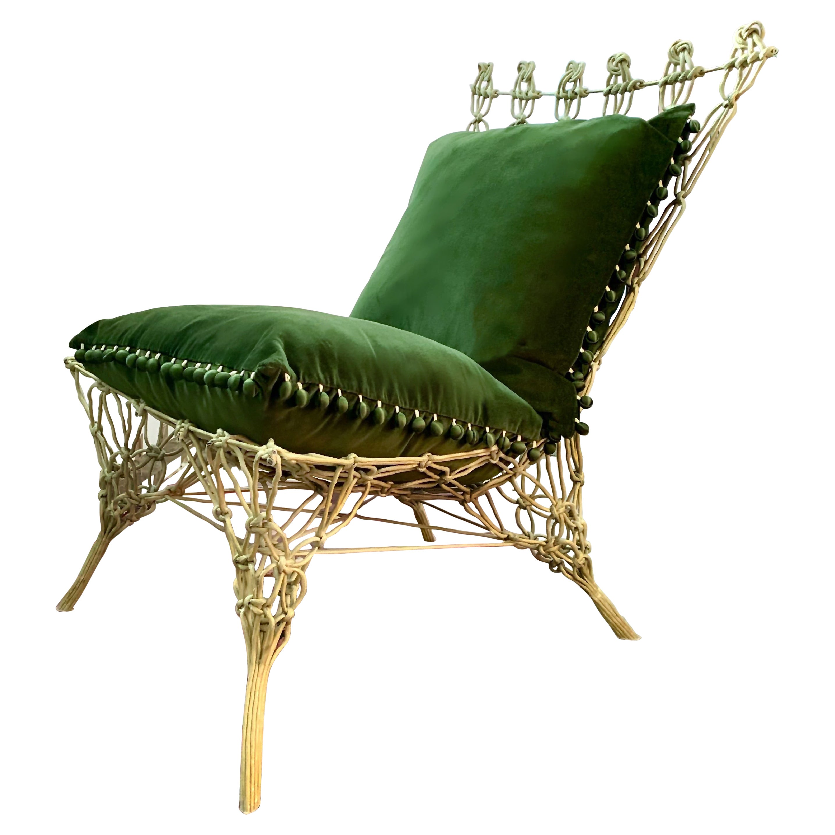 Marcel Wanders, Droog Design, Cappellini Knotted Chair, 1996, Netherlands, Italy