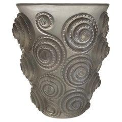 "René Lalique Vase ""Spirales"""