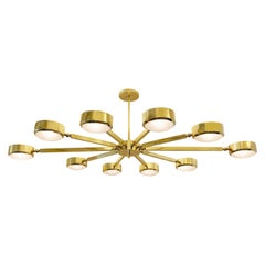 Oculus Articulating Ceiling Light by form A -Oval Version with Murano Glass