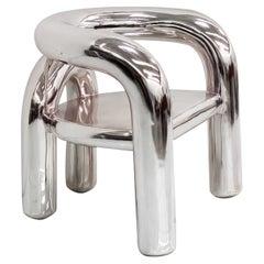 Jumbo NYC Neotonic Lounge Chair in Chrome