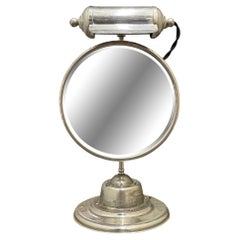 Early 20th Century American Lighted Shaving Mirror