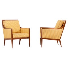 Pair of Paul McCobb Lounge or Arm Chairs for Calvin 1950s, USA