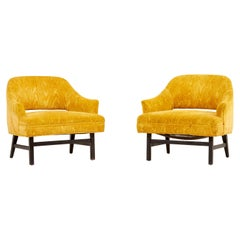 Pair of Harvey Probber Lounge Chairs, USA 1960s