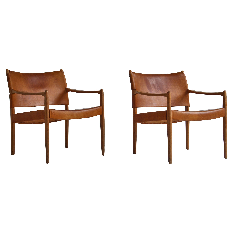 """Scandinavian Modern Armchairs """"Premiär-69"""" by Per-Olof Scotte for Ikea"""