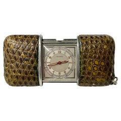 Vintage Movado Ermeto Travel Clock