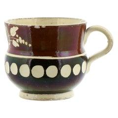 French Mocha Creamware Mug