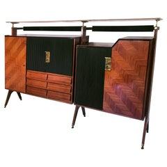 Italian Mid-Century Sideboard or Cupboard by La Permanente Mobili Cantù, 1950s