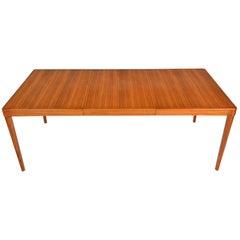 Number 86 Dining Table in Teak by H.w. Klein