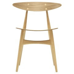 CH33T Dining Chair in Oak Lacquer by Hans J. Wegner