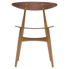 CH33T Dining Chair in Oak/Walnut Oil by Hans J. Wegner