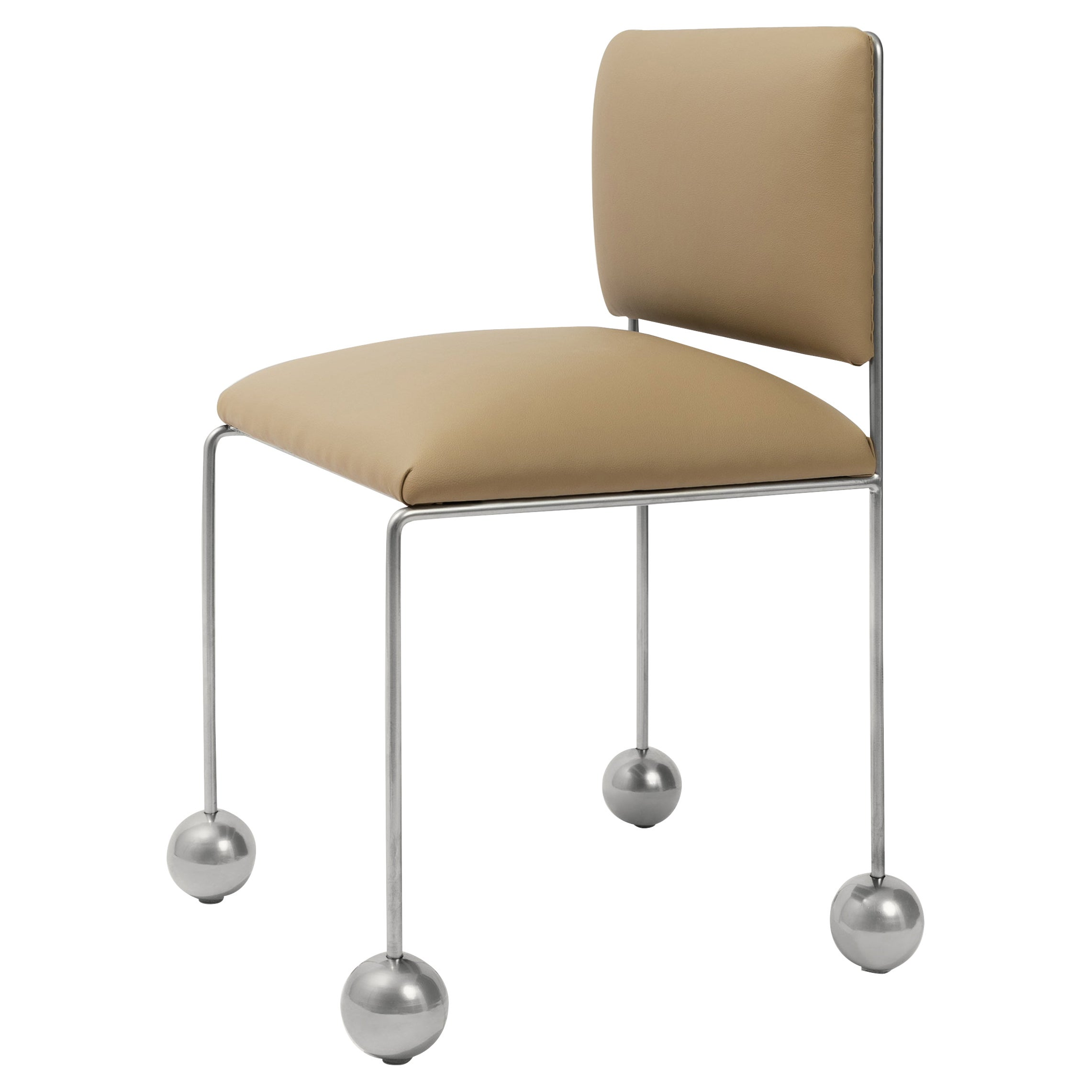 Ball Foot Chair by Panorammma