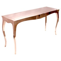 Louise Console Table in Copper by Paul Mathieu for Stephanie Odegard