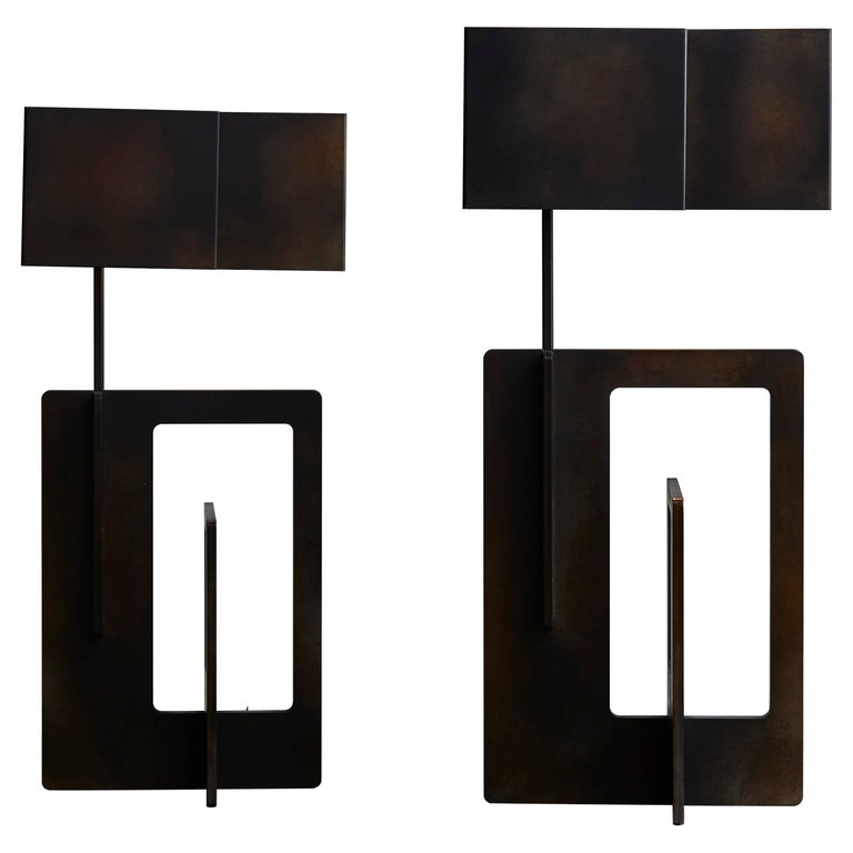 Pair of Kit Table Lamps by Esperia For Sale