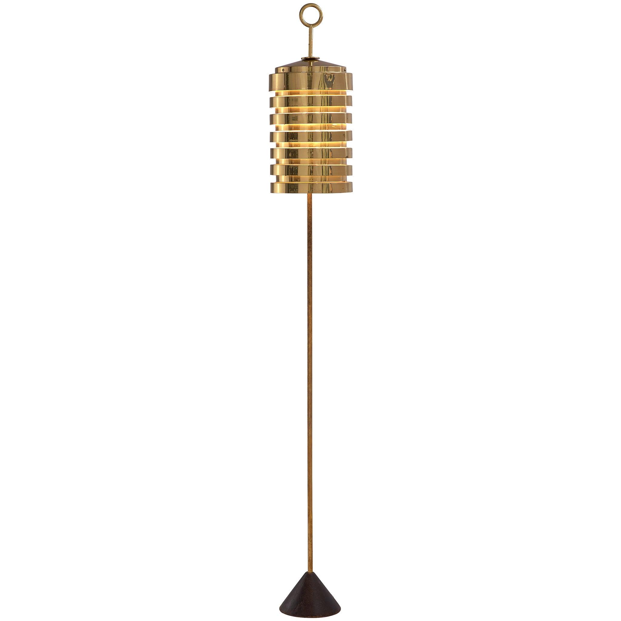 Hans-Agne Jakobsson 'G20' Floor Lamp in Brass
