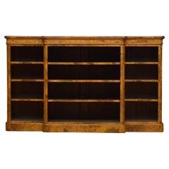 Superb Victorian Walnut Bookcase