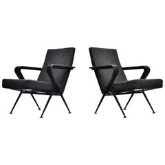 Friso Kramer Repose chairs Ahrend de Cirkel, 1959