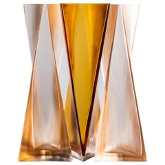 Ando Set of Vases in Hand Blown Glass by Tadao Ando for Venini