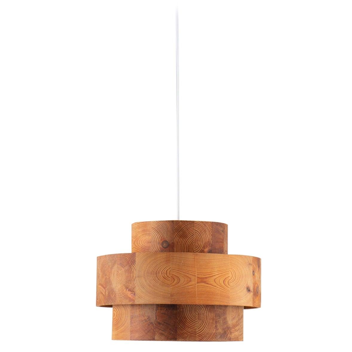 Scandinavian Pendant in Pine by Kentson