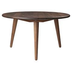 CH008 Large Coffee Table in Walnut Oil by Hans J. Wegner