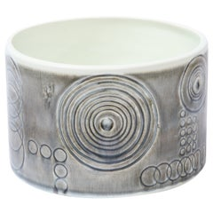 "Swedish Mid-Century Modern ""Sarek"" Ceramic Vase by Olle Alberius for Rörstrand"