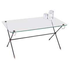 Salontable or Coffee Table from Jacques Adnet X-Base Model 1960