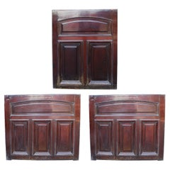 Victorian Reclaimed Mahogany Counter or Bar Panelling