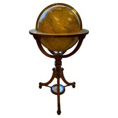 19th Century English Globe by Renowned Cartographers John Newton and Son
