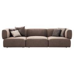 Patricia Urquiola 'Bowy' Sofa, Foam and Fabric by Cassina