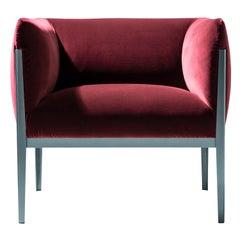 Ronan & Erwan Bourroullec 'Cotone' Armchair, Aluminum and Fabric by Cassina