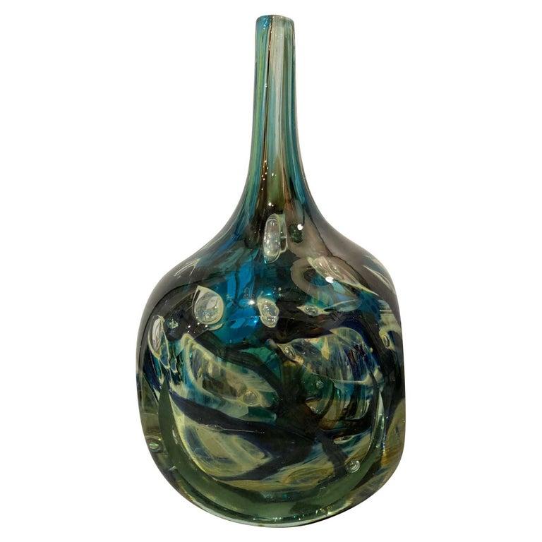 Maltese Studio Glass Square Vase