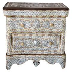 Moorish White Nightstand Dresser
