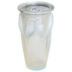 Lalique Opalescent Vase