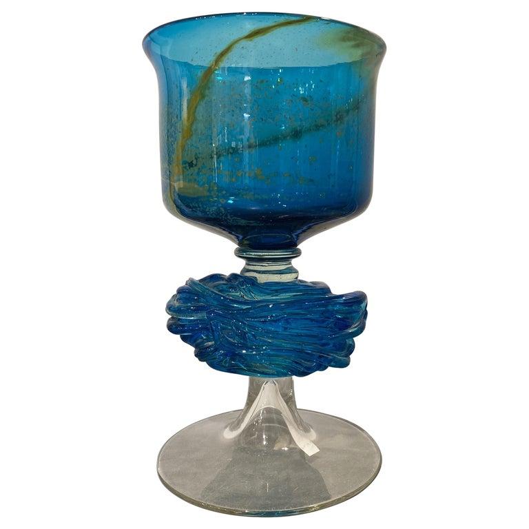 Maltese Studio Glass Chalice