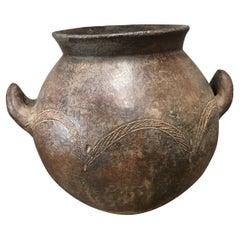 Vintage European Round Vase