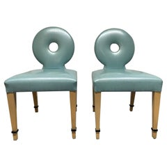 Pair Art Deco Chairs