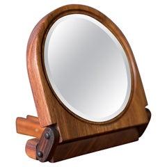 Vintage Studio Koa Wood Foldable Mirror