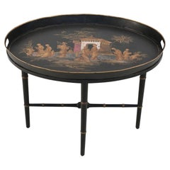 Chinoiserie Black Tray Top Coffee Table