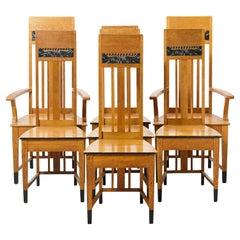 Swedish Art Nouveau Chairs
