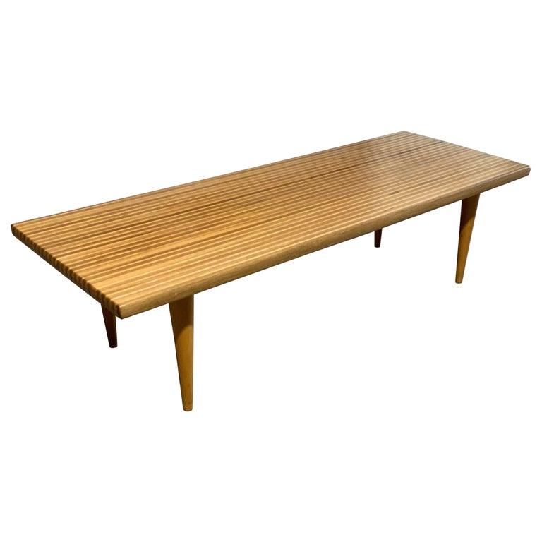 Yngvar Sandstrom for Nordiska Kompaniet Butcher Block Coffee Table For Sale