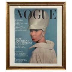Vogue Magazine September 1963 Framed Cover
