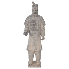 Chinese Emperor of Qin Mausoleum-Style Terracotta Warrior Statue