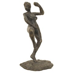 French Post-War Stylized Female Figures