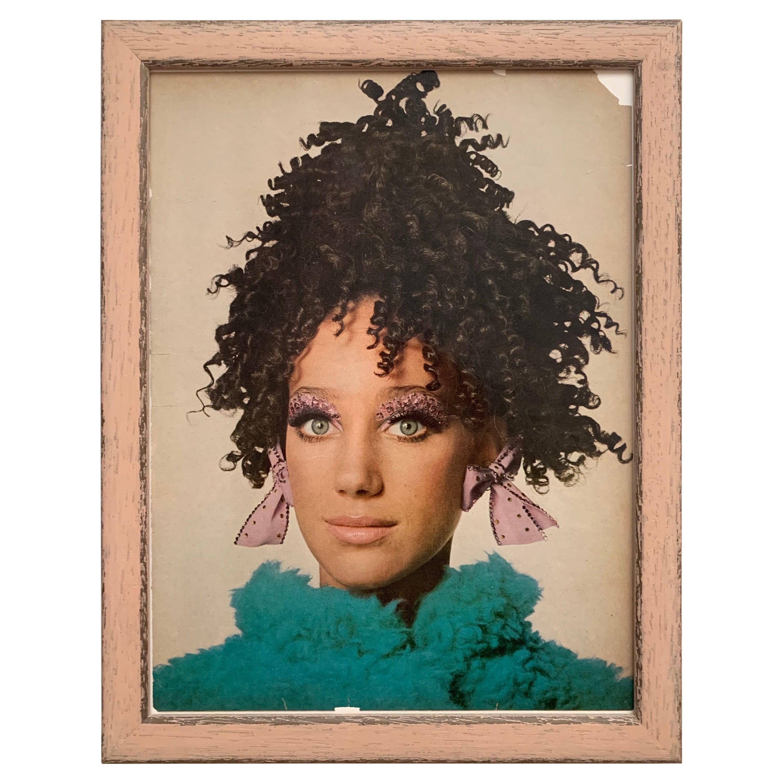 1967 Vogue Magazine Irving Penn Framed Fashion Print
