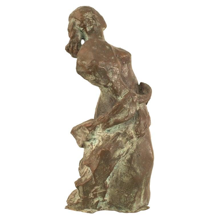Post-War Abstract Bronze Sculpture For Sale