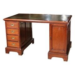 Antique Colonial Teak Desk